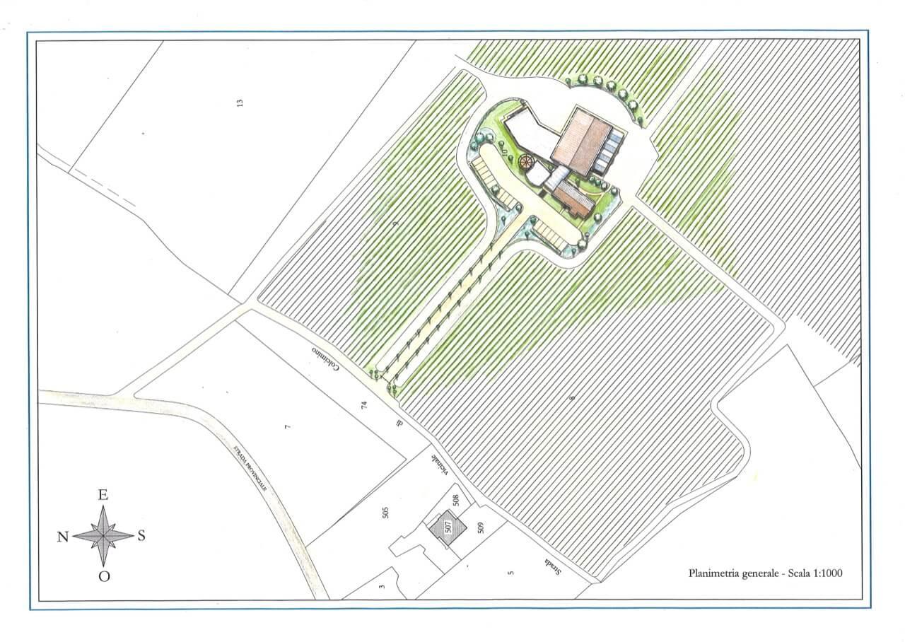 Progetto di cantina studio zaroli for Creare planimetria casa
