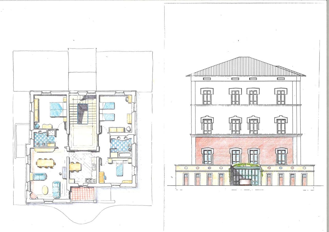 Disegni vari studio zaroli for Disegni cottage e planimetrie
