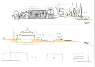 Studio per costruzione palazzina ad appartamenti