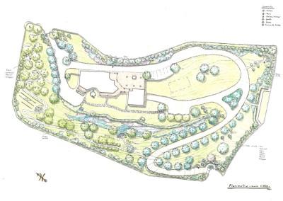Giardino villa plurifamiliare
