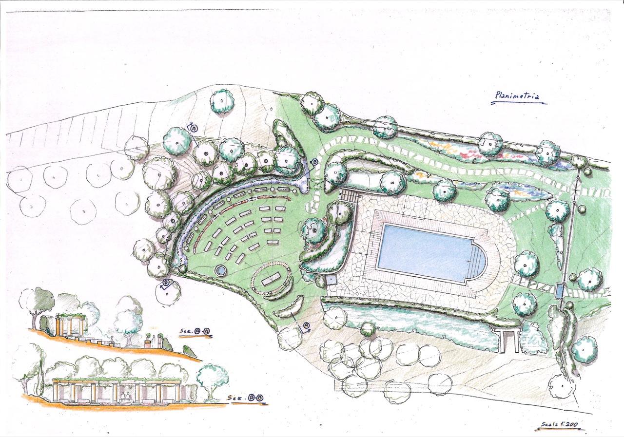Giardino Progetto: Un piccolo giardino privato ecco il ...