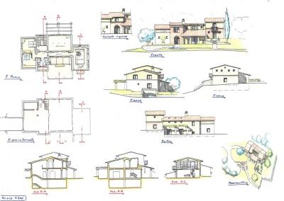 Studio progetto villa