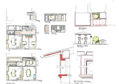 Studio per progetto ristrutturazione palazzina uffici