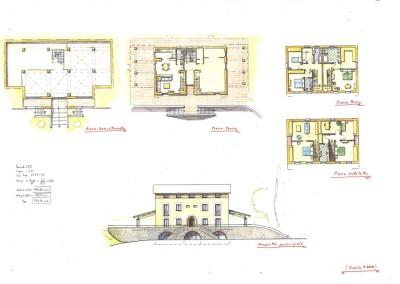 Progetto palazzina bifamiliare