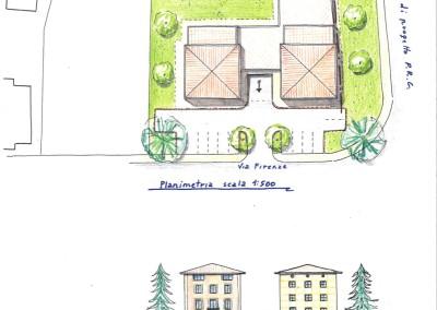 Studio per edificazione palazzina